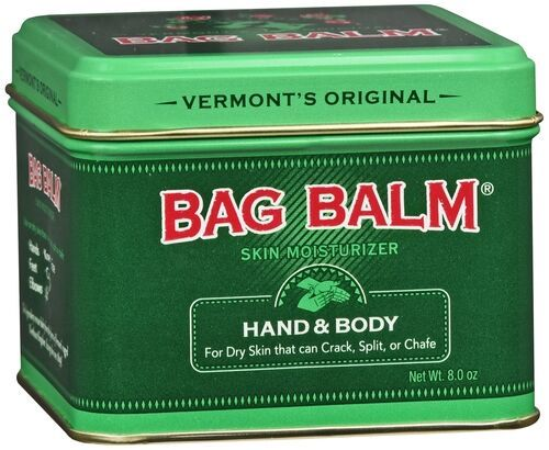 Vermont's Original Bag Balm Ointment 8 oz - Skin Moisturizer for Hand & Body - For Dry Skin that can Crack, Split, or Chafe