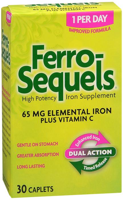 Ferro-Sequels Tablets - 30 Tablets