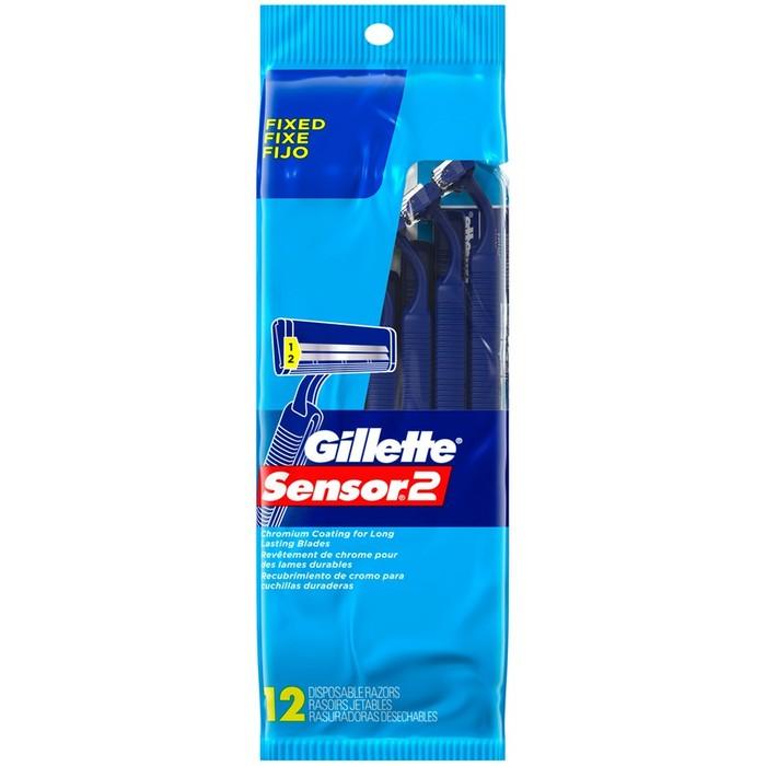 Gillette Sensor 2 Disposable Razors - 12 pack