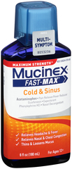 MUCINEX FAST-MAX CONGESTION & HEADACHE - 6 OZ