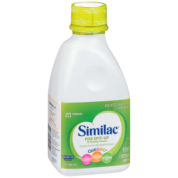 Similac Infant Formula Ready to Feed For Spit-Up - 32 OUNCE
