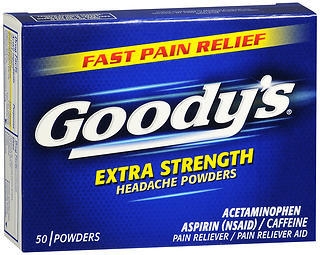 Goody's Extra Strength Headache Relief On-The-Go Powder Stick Packs - 50 CT