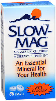 Slow-Mag Tablets with Calcium - 60 TAB