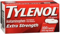Tylenol Extra Strength Caplets 100 CT