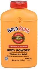Gold Bond Medicated Body Powder Original Strength 4 OZ