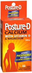 Posture-D Calcium with Vitamin D & Magnesium Caplets 60 CT