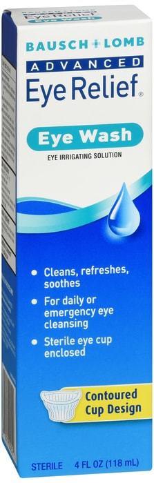 Bausch + Lomb Advanced Eye Relief Eye Wash 4 OZ