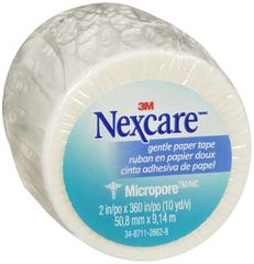 Nexcare First Aid Micropore Gentle Paper Tape 2 in. x 10 yd. 6 CT