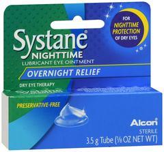 Systane Nighttime Lubricant Eye Ointment - 3.5 GM