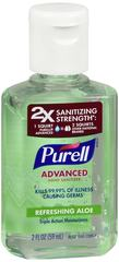 Purell Advanced Hand Sanitizer Refreshing Aloe 2 OZ