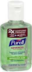 Purell Advanced Hand Sanitizer Refreshing Aloe 2 OZ
