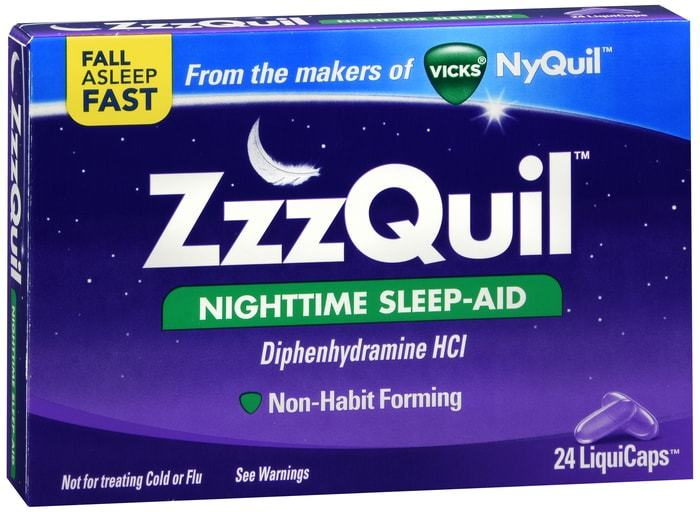 ZzzQuil LiquiCaps 24 CT