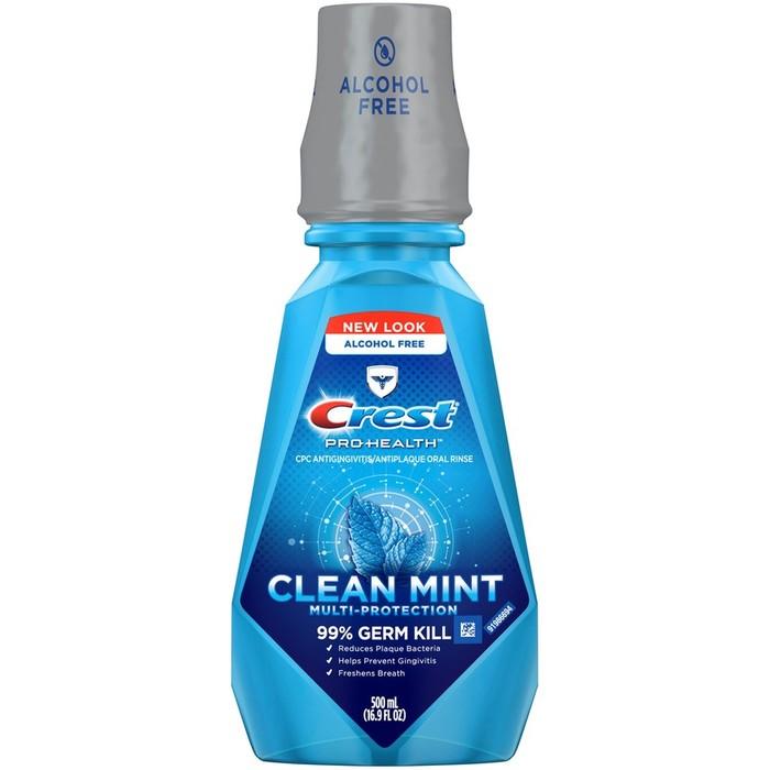Crest Pro-Health Multi-Protection Oral Mouthwash Clean Mint - 500 ML
