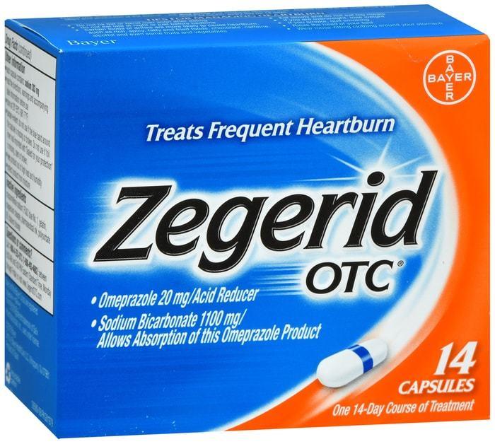 Zegerid OTC Capsules 14 CT