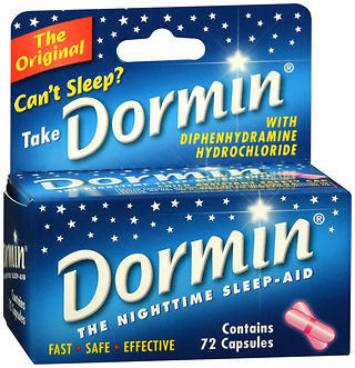 Dormin Nighttime Sleep-Aid Capsules - 72 Capsules