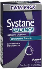 Systane Balance Eye Drops 2 x 10ML