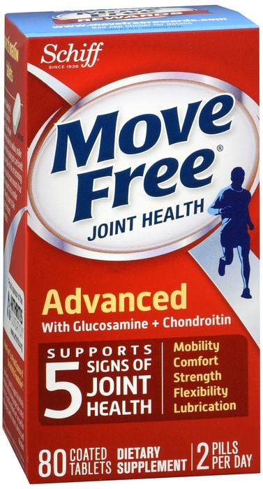 Move Free Joint Health Advanced Triple Strength Tablets - 80 CT