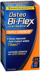 Osteo Bi-Flex Joint Health Triple Strength - 80 Caplets