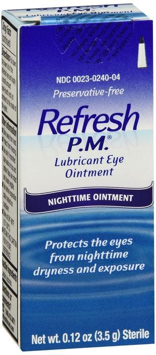 Refresh PM Ointment - Eye Lubricant - 3.5 Grams