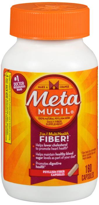Metamucil Digestive Health - 160 Capsules