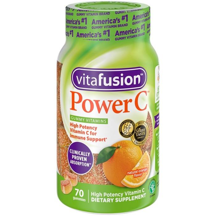 VitaFusion Power C Gummies - 70 CT
