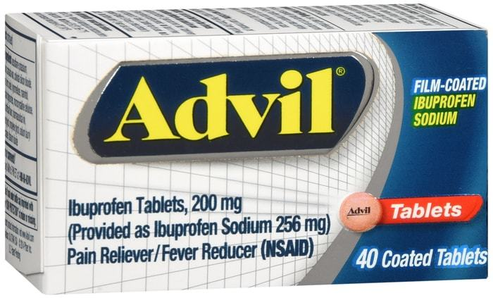 Advil Film-Coated Ibuprofen Tablets (200 mg) - 40 CT