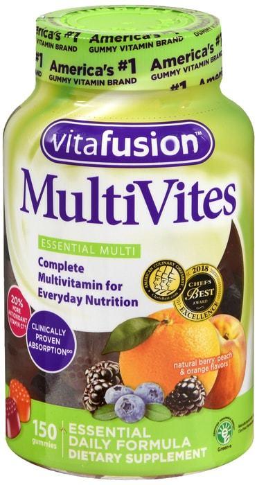 VitaFusion Multivites Complete Gummy - 150 CT