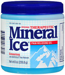 THERAPEUTIC MINERAL ICE 2% GEL - 8 OZ