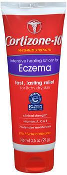 Cortizone-10 Intensive Healing Eczema Lotion - 3.5 Ounces