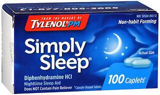 Simply Sleep Caplets - 100 TAB