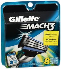 Gillette Mach 3 Cartridges 8-Pack - 8 Each