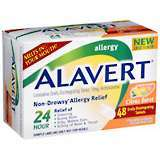 Alavert 24 Hour Orally Disintegrating Tablets Citrus Burst - 48 TB