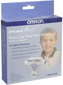 Omron Peak Air Peak Flow Meter Home Use PF9940 - 1 EA